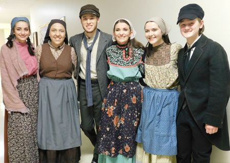Fiddler on the Roof Cast and Crew