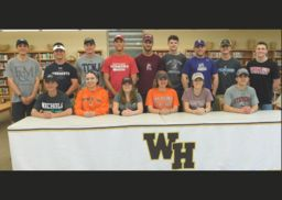 May 2019 Athletic Letters of Intent