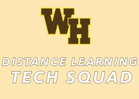 WARRIOR DISTANCE LEARNING TECH SQUAD