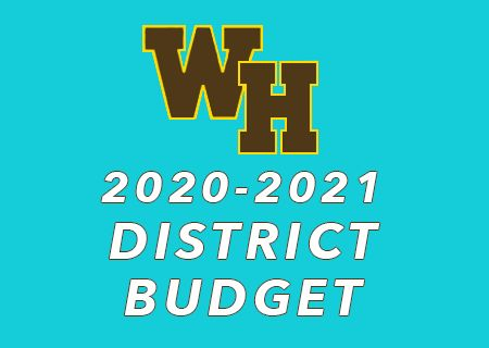 2020-2021 District Budget