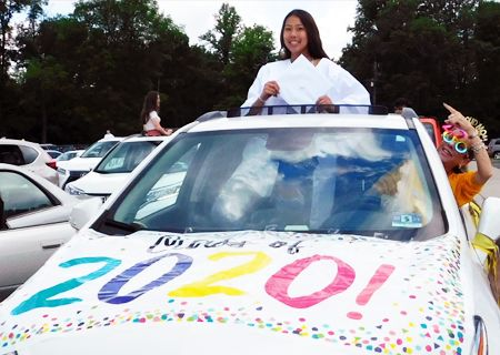 Class of 2020 Graduation Car Parade