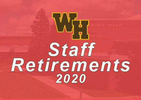 2020 Staff Retirements