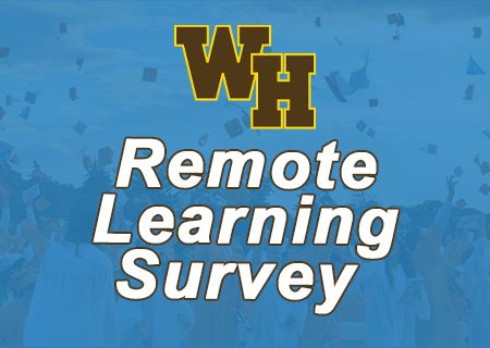 Full Time Remote Learning Survey Letter