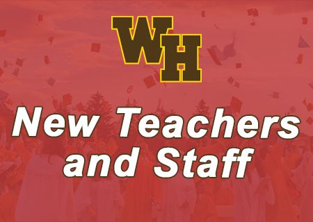2021 New Teachers and Staff