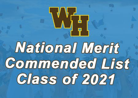 National Merit Commended List For Class of 2021