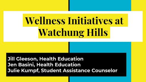 District Update on Wellness